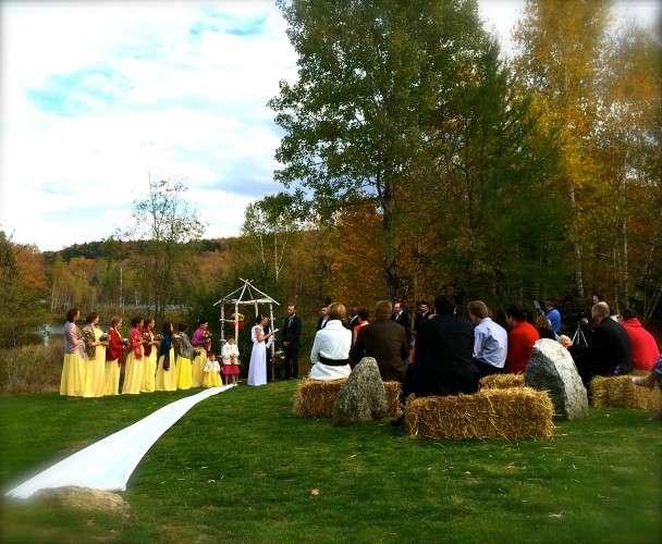 Wardsboro Vermont Autumn Wedding
