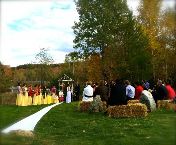 Wardsboro Vermont Autumn Wedding